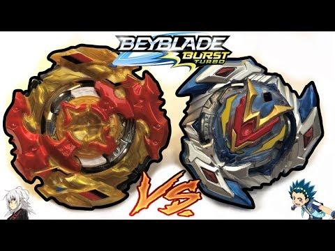 Turbo Spryzen S4 Vs Wonder Valtryek V4 | Beyblade Burst Turbo