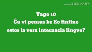 10a Tago – Ĉu vi pensas ke Eo finfine estos la vera internacia lingvo? #30DRYC