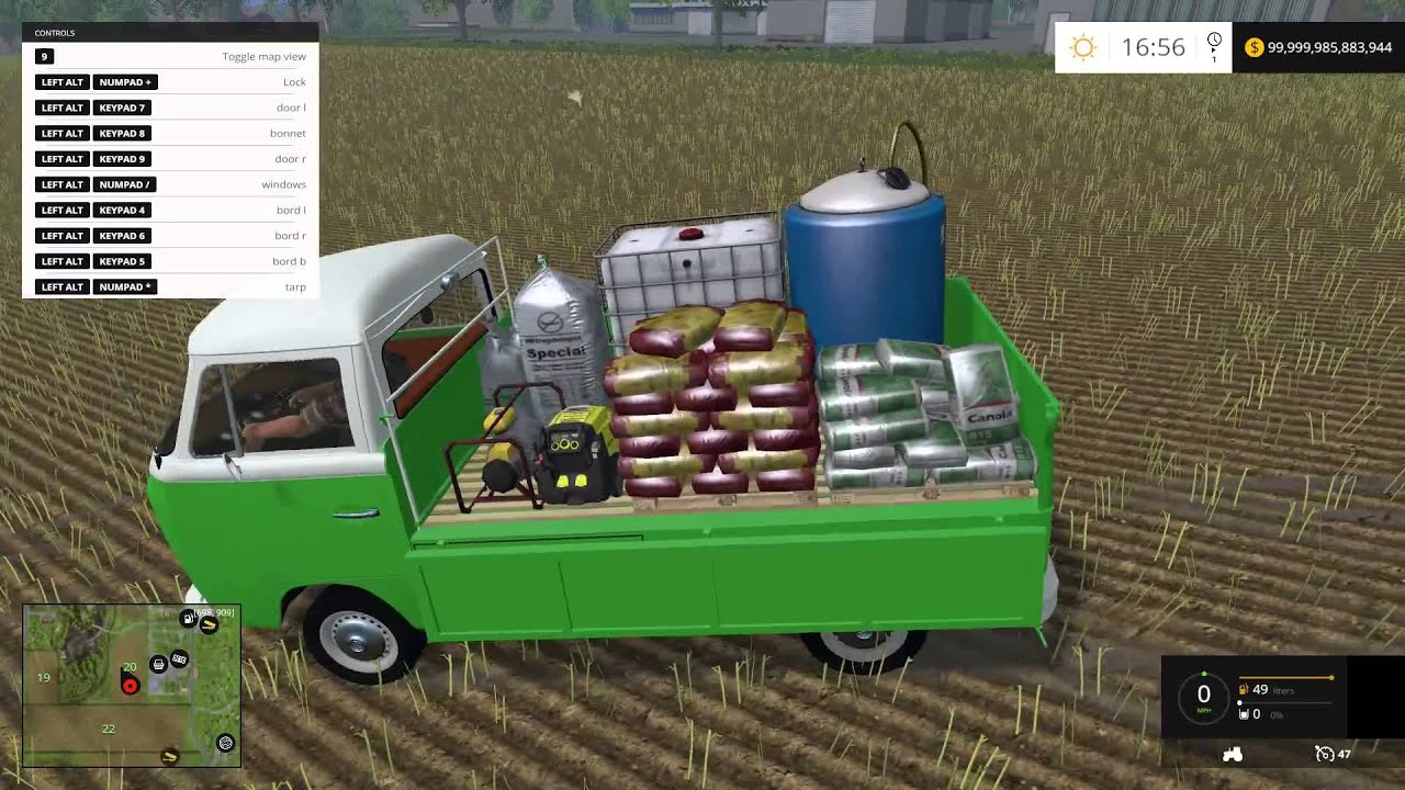 how to stop fertilizer refills from seed pack farming sim