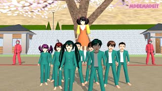 TAIGA'S LIFE: Squid Game - Green Light - Red Light   Sakura School Simulator screenshot 3