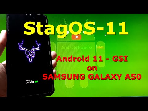 StagOS-11 Android 11 for Samsung Galaxy A50