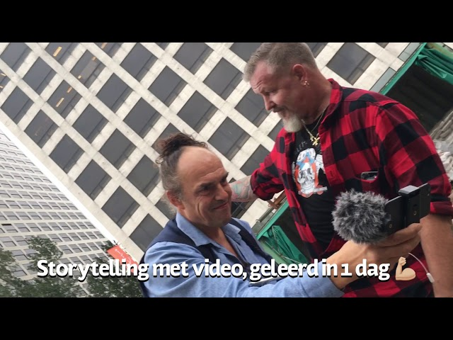 Making off - smartphone video training bij NewMediaBrains
