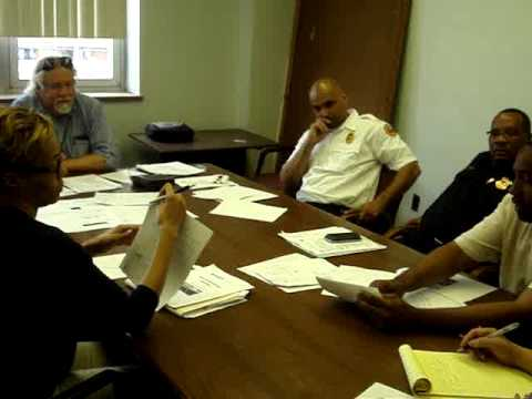 East Cleveland Board Zoning Appeals Meeting August 12, 2014