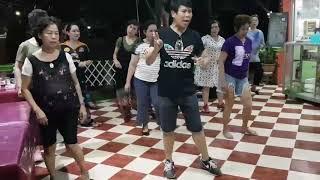 สอนเต้นไลน์แดนซ์เพลงวอนลมฝากรัก