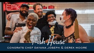 6TH VOYAGE: FISH HOUSE LIVE CONGRATS CHEF DAY JOSPEH & DEREK MOORE