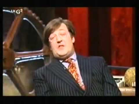 Stephen Fry on Room 101 with Paul Merton 1 of 3