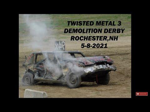 Rochester,NH Demolition Derby 5-8-21