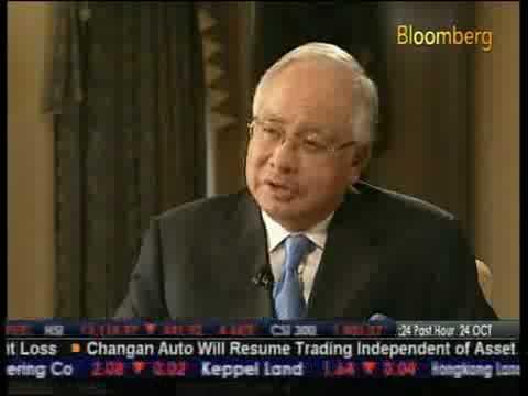 Bloomberg Voices : Dato' Seri Najib Tun Razak (Part 3)  (24-10-2008)