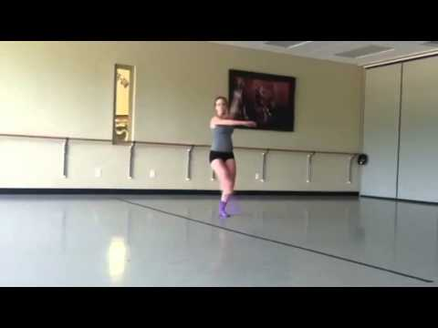 Dance composition solo