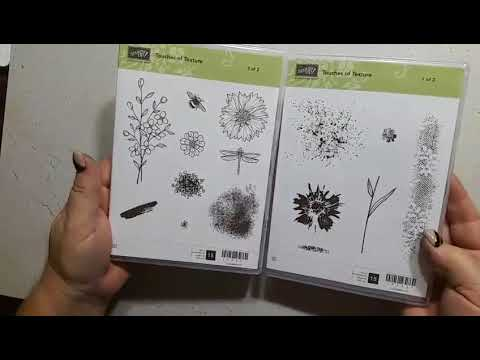 Facebook Live Stampin Up Touches Of Texture & Ombre Effect Stamping with DonnaG!