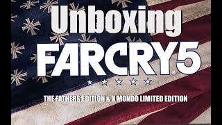 """Far Cry 5, Unboxing zu der """"The Father Edition"""" & der """"X Mondo Limited Edition"""" - Deutsch/German"""