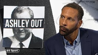 Rio Ferdinand defends Mike Ashley and suggests Newcastle fans need to thank him
