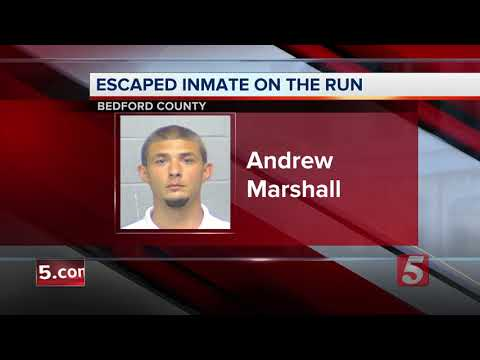 Search Underway For Escaped Inmate In Bedford County