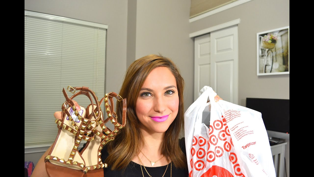 HAUL! TARGET & DSW - DECOR, ZAPATOS Y SNACKS!