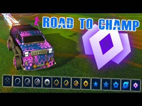 Rocket League - Road to Champ in 500 hours!
