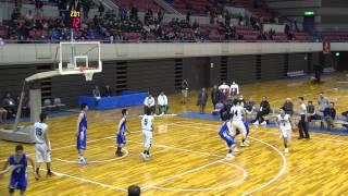 飛龍vs中部大第一(OT)高校バスケ 2015 新人戦東海大会準決勝