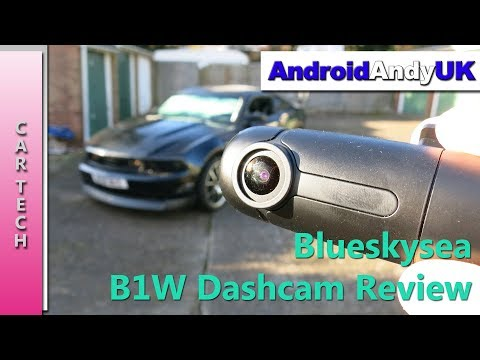 Blueskysea B1W Dashcam Review