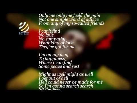 """Bob Marley """"No Sympathy"""" (Lyrics-Letras) (Feat.Peter Tosh)"""