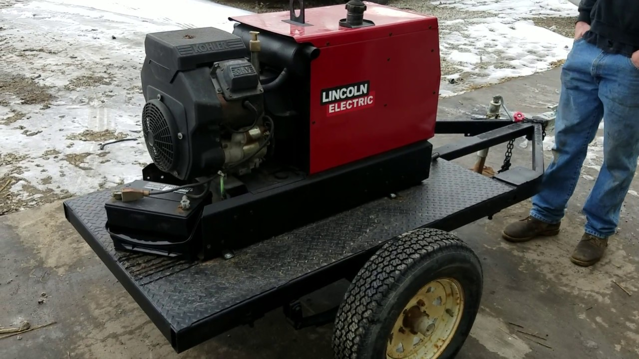 small resolution of  portable generator wiring diagram lincoln ranger 10 000 welder generator youtube on lincoln weld pak parts diagram