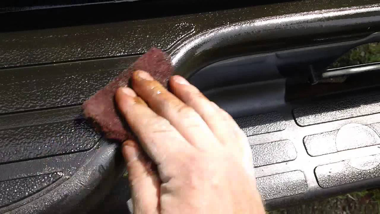 Quick trick to remove rust stains off chrome and plastic