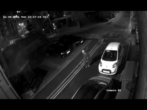 Vauxhall Corsa front end theft - Kelham Island Sheffield