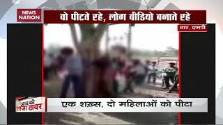 Married woman, lover tied to tree, brutally beaten in MP