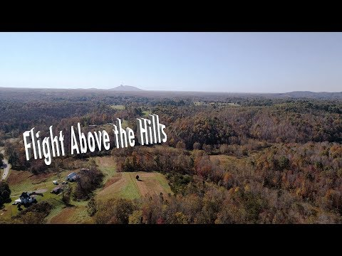 Flight Above the Hills - DJI Phantom 4 Advanced