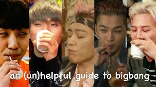 an (un)helpful guide to bigbang Video