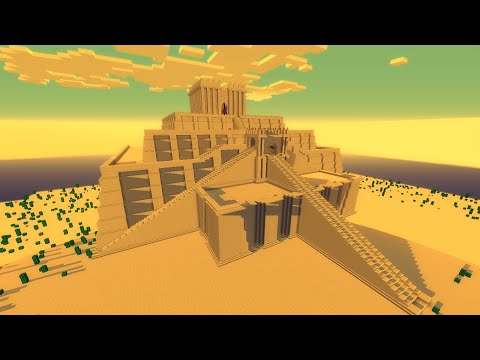 Minecraft Zigurate de Ur (Ziggurat of Ur)