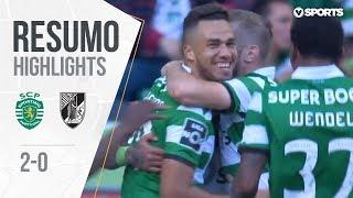 Highlights   Resumo: Sporting 2-0 Vitória SC (Liga 18/19 #31)