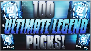 100x ultimate legend packs 5 000 000 coin opening madden mobile 17