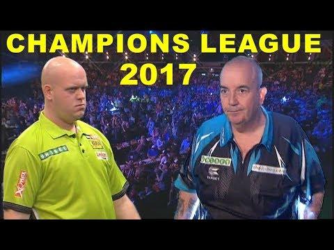 van Gerwen v Taylor 2017 Champions League of Darts