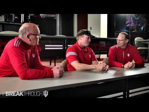 Jon Gruden Meets with Coach Allen and Coach DeBord