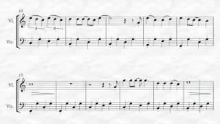 Gambar cover Train - Marry me - version duo violin cello