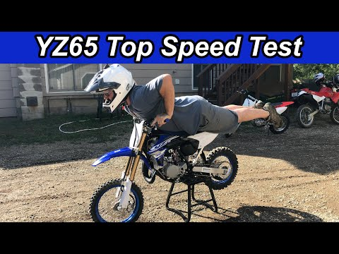YZ65 Top Speed Run