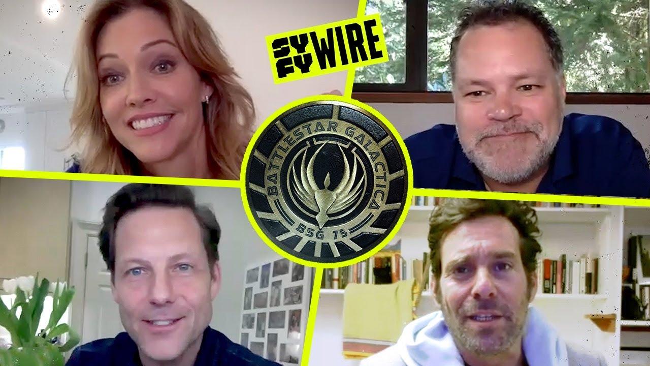 Download The Big Frakkin' Battlestar Galactica Reunion Pt. 1 | SYFY WIRE REWIND