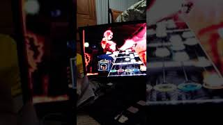 Through the fire and the flames Guitar hero 3 73%