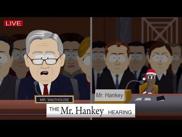 watch south park mocks brett kavanaugh hearing with help from mr hankey deadline - Hankey The Christmas Poo Song