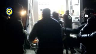 قتلى الغارة الأمريكية بريف حلب يتبعون جماعة التبليغ (فيديو)
