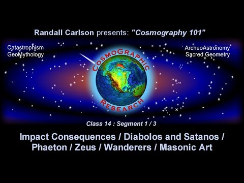 "Cosmography101 Class14.1 ""Comets, the Devil, and Mayan Gods"" w/ Randall Carlson (2008)"