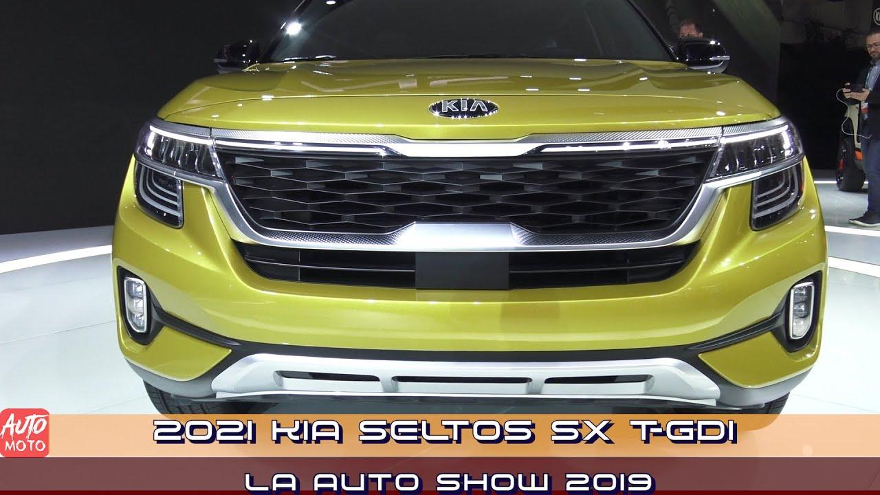 2021 kia seltos sx t gdi  exterior and interior  la auto