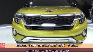 2021 KIA Seltos SX T GDI - Exterior And Interior - LA Auto Show 2019