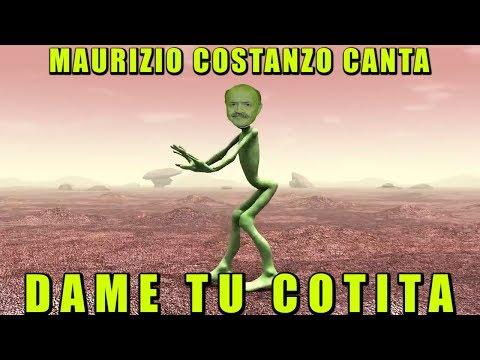 MAURIZIO COSTANZO CANTA - DAME TU COTITA