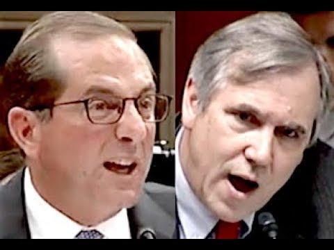 """""""YOU OBVIOUSLY HAVEN'T READ THE BILL!!!"""" Senator Jeff Merkley HUMILIATES Trump Lackey Alex Azar"""