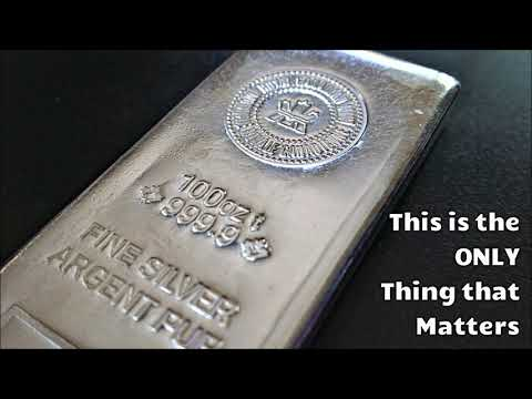 The Only Thing That's Moving the Silver and Gold Markets