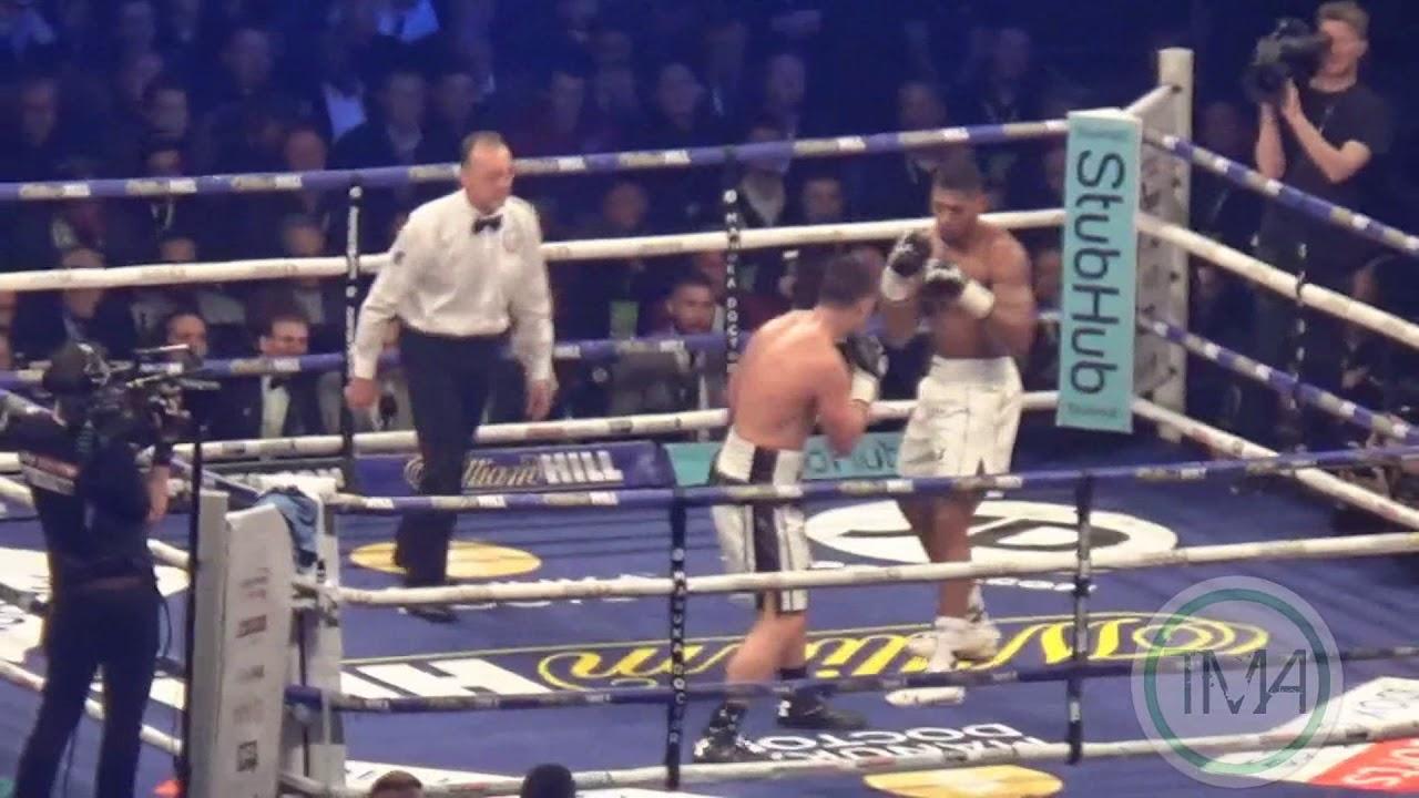 Anthony Joshua Vs Joseph Parker Full Fight 31/03/2018 [HD]