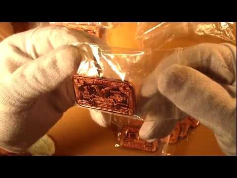 Unboxing Copper Bullion Bars and Rounds