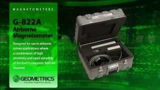 G-822A Airborne Magnetometer Video