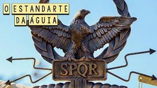 O Estandarte da Águia: O Símbolo Sagrado das Legiões Romanas - Foca na História - #Shorts