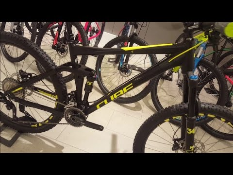 603c0ffc998 Cube STEREO 140 HPA Race black´n´flashyellow 27.5 Modell 2017 - YouTube